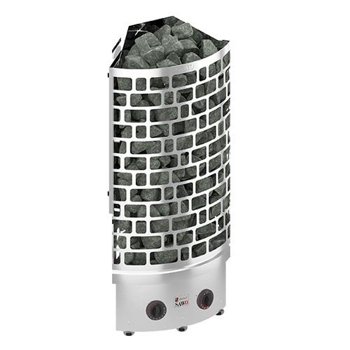 Электрическая печь SAWO ARIES ARI3-60NB-CNR-P (6 КВТ, УГЛОВАЯ, НЕРЖАВЕЙКА)