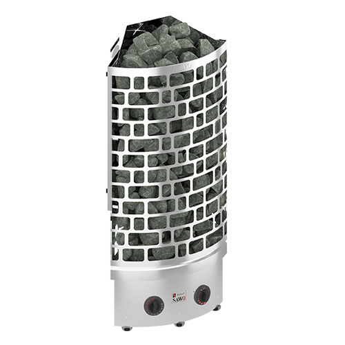 Электрическая печь SAWO ARIES ARI3-90NB-CNR-P (9 КВТ, УГЛОВАЯ, НЕРЖАВЕЙКА)