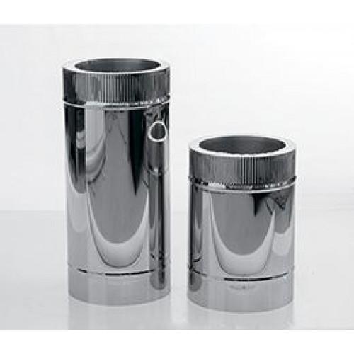 Труба L=5000мм AISI 439/430 для дымохода из нержавеющей стали