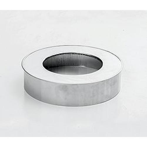 Заглушка проходная с изол 50 AISI 430 для дымохода из нержавеющей стали