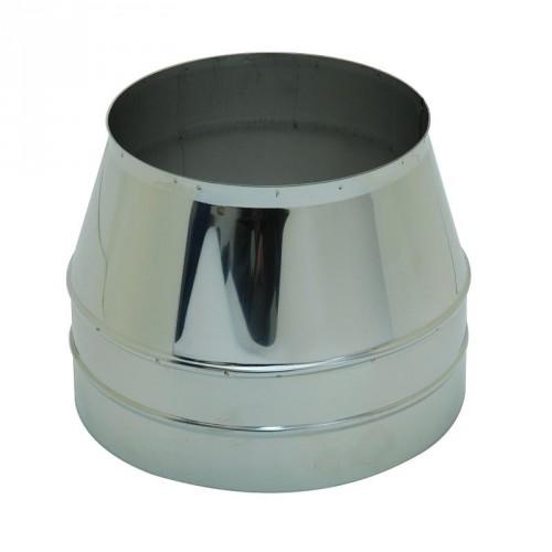 Коническое окончание AISI 439/430 для дымохода из нержавеющей стали