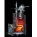 Чугунная банная печь - Гефест ГРОМ 30 П