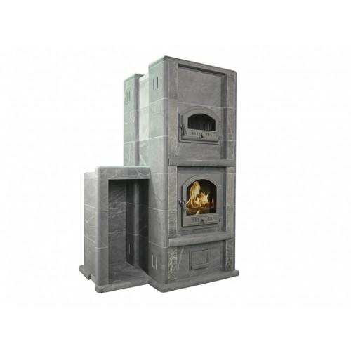 Теплонакопительная печь-камин Karhu 2DT