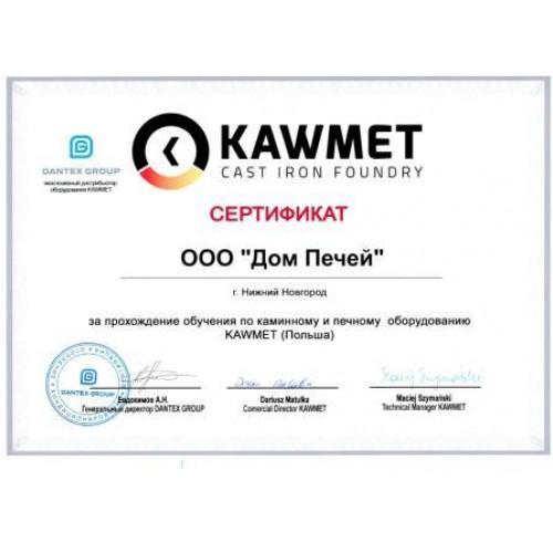 Сертификат Kaw-Met