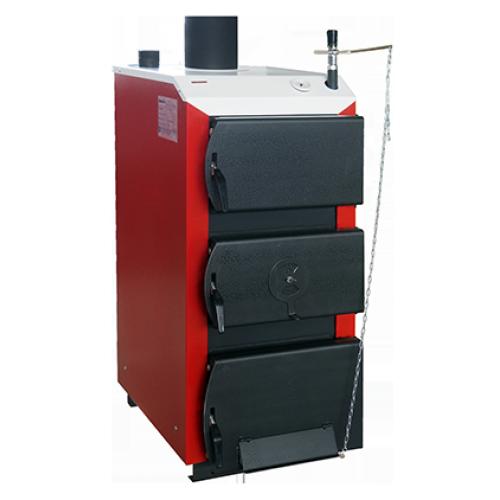 Твердотопливный котел длительного горения DRAGON-TA-ГВ 30 с контуром горячего водоснабжения