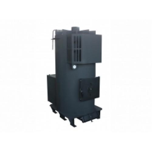 Твердотопливный теплогенератор для воздушного отопления DRAGON-TG 70F