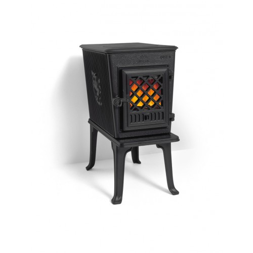 Чугунная печь на дровах Jotul F 602 GD черная