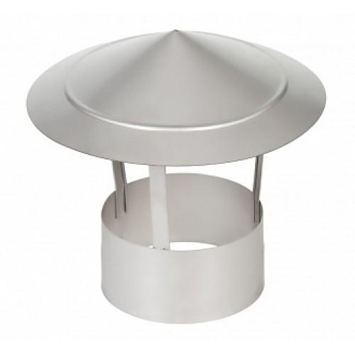 Зонт 1Z AISI 409 на дымоход из нержавеющей стали
