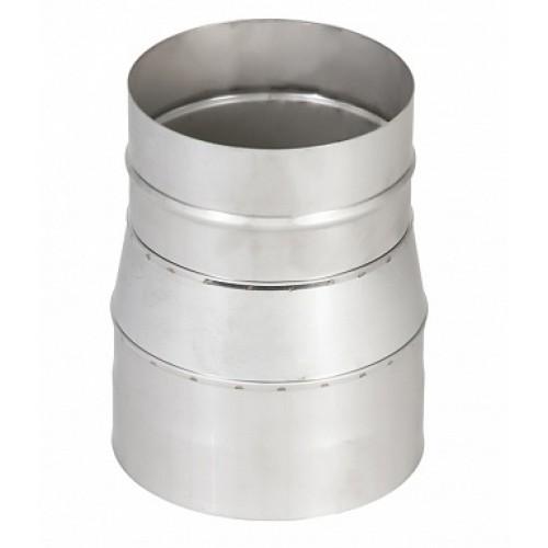 Переход 1П AISI 409 на круглое сечение для дымохода из нержавеющей стали