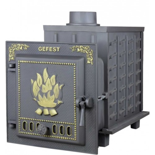 Чугунная банная печь Гефест - ПБ-04