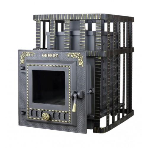 Чугунная банная печь Гефест - ПБ-04МС