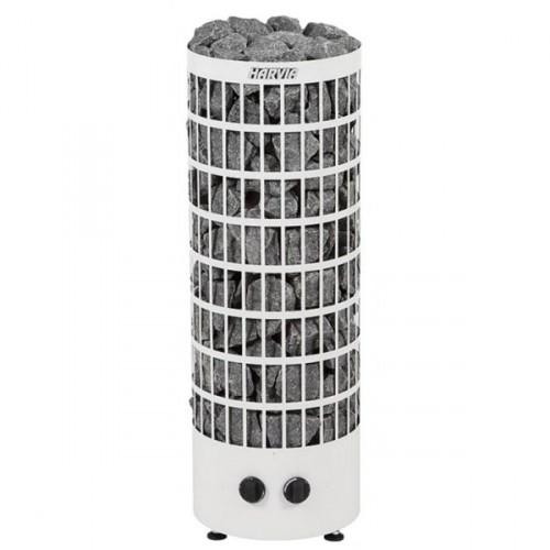 Печь электрическая Harvia Cilindro PC90 White (Напольная)