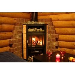 Как установить печь-камин в деревянном доме