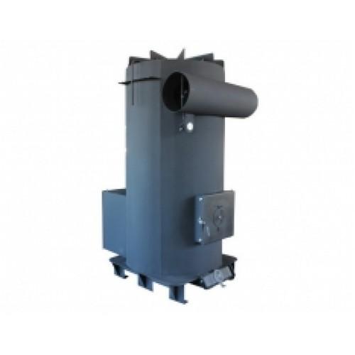 Твердотопливный теплогенератор для воздушного отопления DRAGON-TG 100H