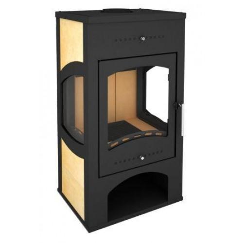 Печь-камин Варта 3D