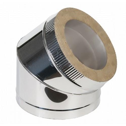 Отвод 45° 2OT45 AISI 409/430 из нержавеющей стали