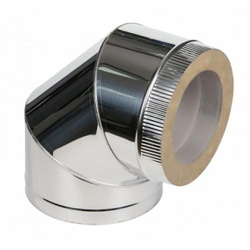 Отвод 90° 2OT90 AISI 409/430 из нержавеющей стали