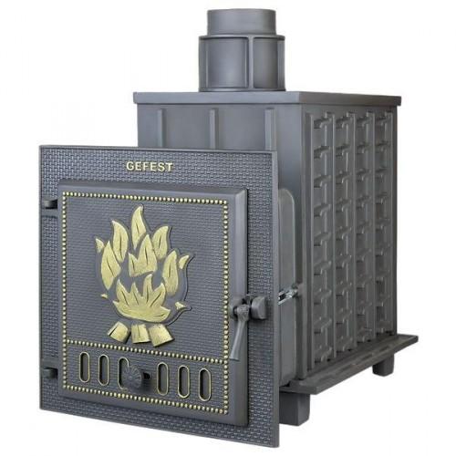 Чугунная банная печь Гефест - ПБ-02