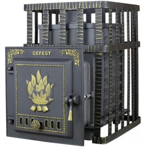 Чугунная банная печь Гефест - ПБ-02C