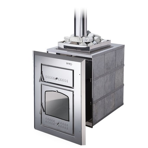 Металлическая печь для бани Чародейка