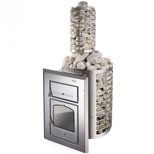 Металлическая печь для бани Чародейка МК