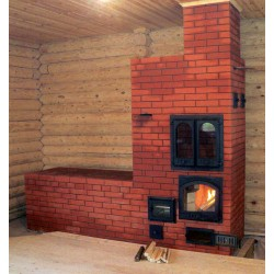Как выбрать печь для деревянного дома с варочной поверхностью